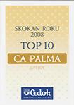 Skokan roku 2008, TOP 10 od Čedok pro CA Palma
