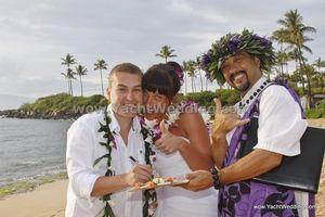 svatba na Havaji - Barbora & Michal