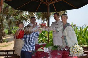 svatba na Srí Lance - Romana & Jan