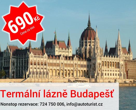 Termální lázně Budapešť