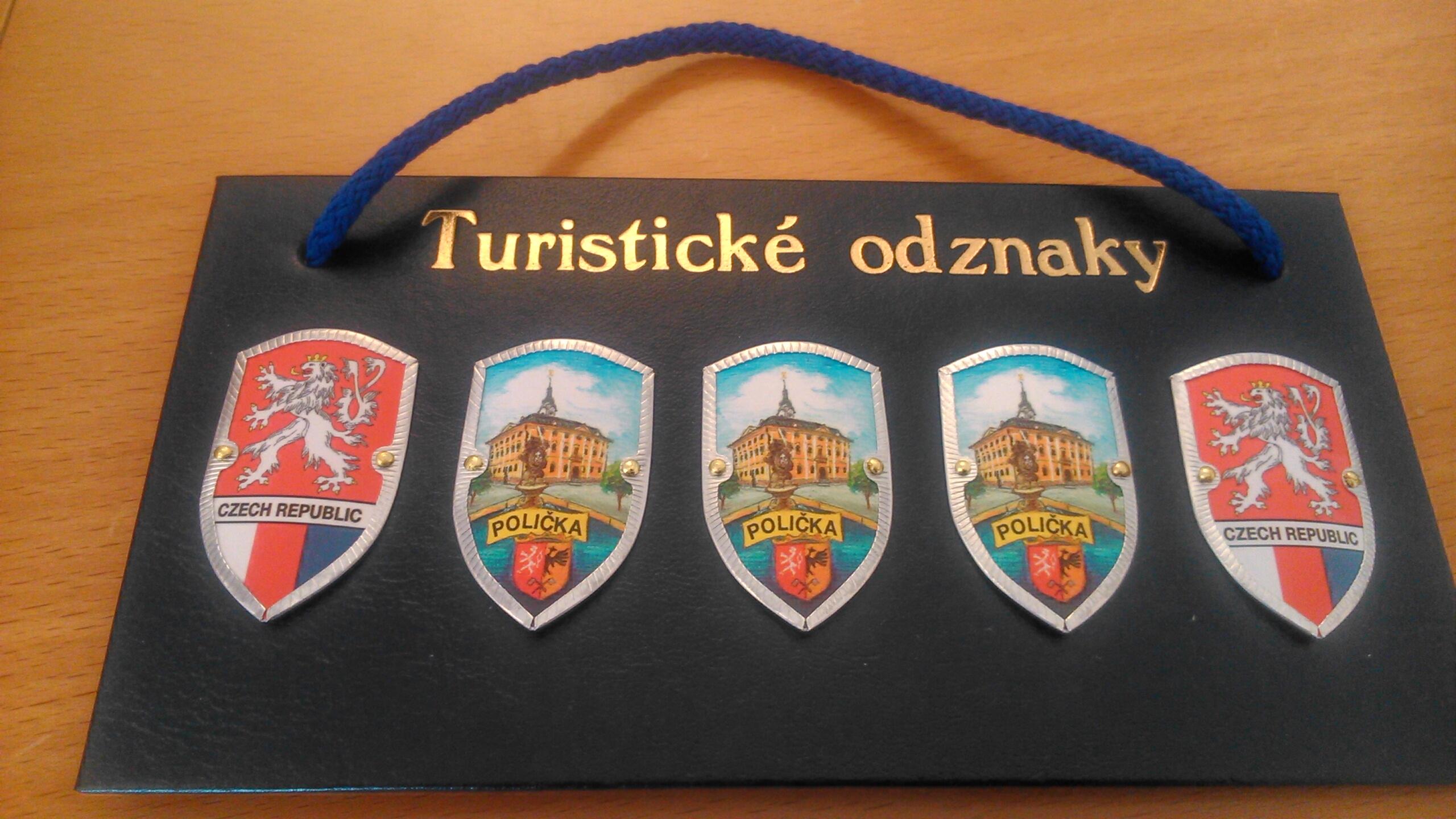 ae1577e20 Informační centrum Polička | Novinky - Turistické odznaky (štítky ...